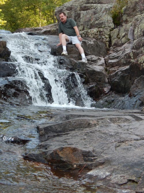 Don at Rocky Falls. Photo by Emery Styron.