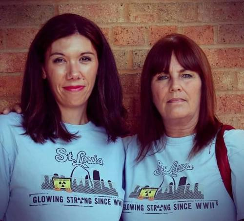 Pictured above: Dawn Chapman (Left) and Karen Nickel, co-founders of Just Moms STL. Picture provided by Just Moms STL.