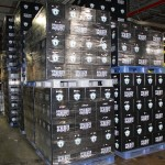Schlafly beer pallets ready to ship.
