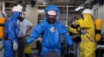HAZWOPER training at SLU CEET. Photo provided by Rene Dulle.