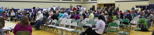 Cold Water Creek FUSRAP Oversight Committee public meeting held in Florissant, February 17, 2016.