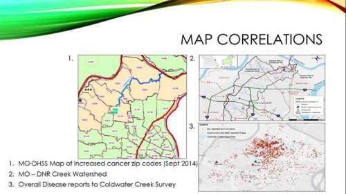 CWC Map Correlations