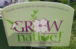 Grow Native Sign