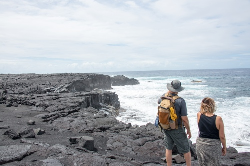 Photo: National Parks Service. Shown is Hawaii Volcanoes National Park.