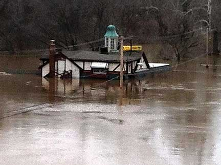 Queen of Hearts, located along the Meramec River at 731 Larkin Williams Road in Fenton. Photo by Diana Linsley, South County Times.
